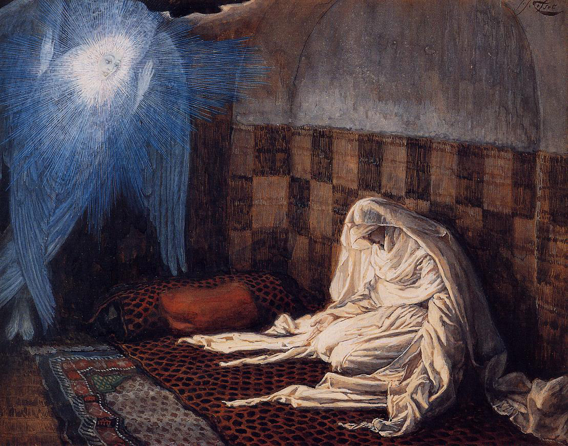 James Tissot, The Annunciation (ca. 1886-1896)