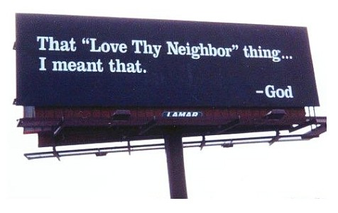 Love Thy Neighbor Billboard