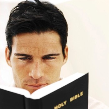 Man Reading Bible