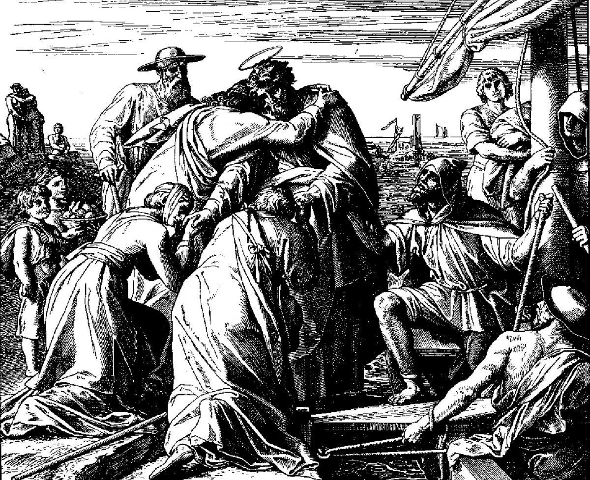 Paul's Farewell To Elders