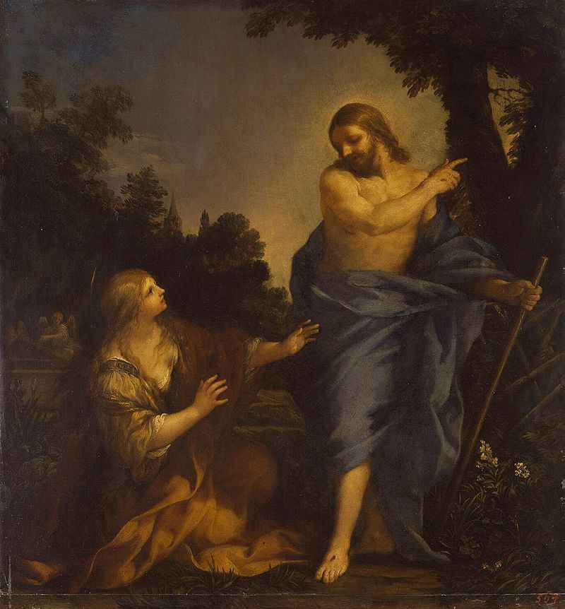Pietro de Cortona, Christ Appearing to Mary Magdalene (1640s)
