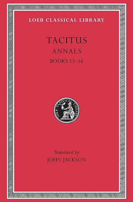 Tacitus Annals Books 13-16
