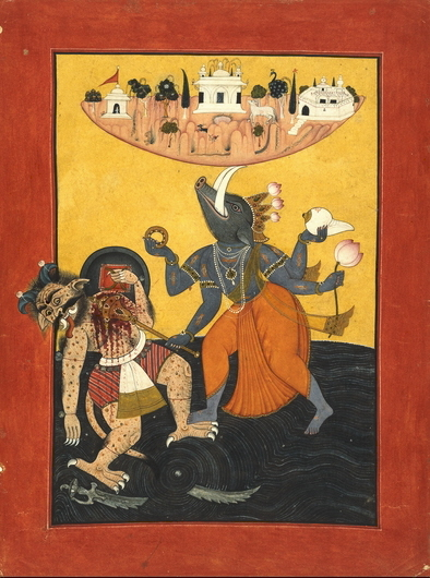 Hindu boar avatar of Vishnu