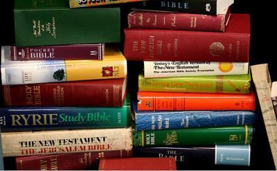 Stacks Of Bibles