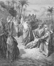Jesus Heals Epileptic